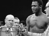 Joe Frazier at the Weigh in for His Fight Against Muhammad Ali Premium Photographic Print by John Shearer