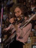 "Electric Violinist Rick Grech from the Group ""Blind Faith."" Premium Photographic Print by John Olson"