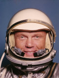 Space Suit Clad Project Mercury Astronaut John Glenn Premium Photographic Print by Ralph Morse