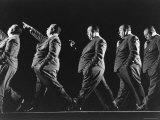 Multiple Exposure of Alfred Hitchcock Premium Photographic Print by Gjon Mili