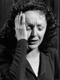 Edith Piaf Reprodukcja zdjęcia premium autor Gjon Mili