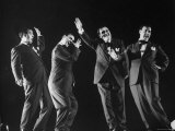 Multiple Exposure of Comedian Zero Mostel Performing His Dance Routine A Jitterbug in Roseland Premium Photographic Print by Gjon Mili