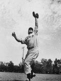 Kansas City Farm Team Member and Future New York Yankee, Bill Moose Skowron Premium Photographic Print by Gjon Mili