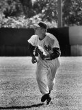 New York Yankees Player Art Schult During Spring Training Premium Photographic Print by Gjon Mili