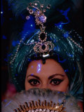 Sophia Loren in Exotic East Indian Costume for Role in Motion Picture Lady L Premium Photographic Print by Gjon Mili