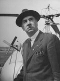 Aeronautical Engineer Igor Sikorsky, Inventor of Helicopter Capable of Sustained Flight Premium Photographic Print by Frank Scherschel