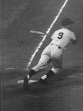 Ny Yankees Right Fielder Roger Maris Hitting 59th Home Run of Season Premium Photographic Print by Ralph Morse