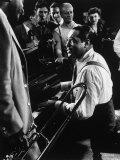 Duke Ellington Playing Sophisticated Lady Reprodukcja zdjęcia premium autor Gjon Mili
