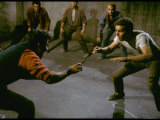 Knife Fight Scene from West Side Story Premium Photographic Print by Gjon Mili