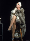 Angela Lansbury in Role of Mame Premium Photographic Print by Bill Ray