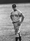 Ny Yankees Right Fielder Roger Maris Standing with Hands on Hips During Game Against Detroit Tigers Premium Photographic Print by Francis Miller