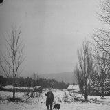 Robert Frost Premium Photographic Print by Eric Schaal