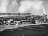 Turbine Locomotives of the Pennsylvania Railroad Premium Photographic Print by Andreas Feininger