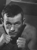 Swedish Heavyweight Ingemar Johansson Premium Photographic Print by Michael Rougier