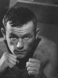 Swedish Heavyweight Ingemar Johansson Premium Photographic Print by Michael Rougier