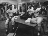 Red Sox Players Reggie Smith and George Scott Premium Photographic Print by Art Rickerby