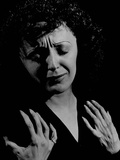 Edith Piaf Metal Print by Gjon Mili