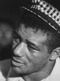 Boxer Floyd Patterson After Losing a Fight to Boxer Cassius Clay aka Muhammad Ali Premium Photographic Print by Art Rickerby