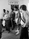 Boxer Muhammad Ali Training for a Fight Against Joe Frazier Premium Photographic Print by John Shearer