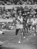 Australian Herb Elliot, Winning Men's 1500 Meter Race, at Olympics Premium Photographic Print by George Silk