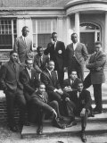 Dr. Martin Luther King Jr. Posing with Other African American Leaders Premium Photographic Print by Howard Sochurek