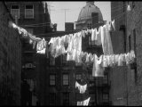 Laundry on Line in Slum Area in New York City Photographic Print by Vernon Merritt III