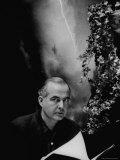 Portrait of Composer Samuel Barber Reprodukcja zdjęcia premium autor Gordon Parks