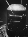 Closeup of a Welder Wearing a Mask Premium Photographic Print by Andreas Feininger