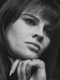 Julie Christie Premium Photographic Print by Paul Schutzer