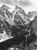 Scenery along Columbia Icefields Highway in Canadian Rockies between Banff and Jasper Premium Photographic Print by Andreas Feininger