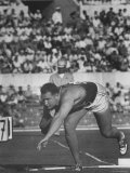 Parry O'Brien During Shot Put at Olympics Premium Photographic Print by George Silk