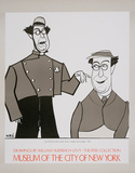 Caricatures - Ed Wynn Collectable Print