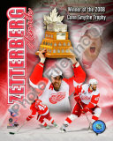 Henrik Zetterberg 2007-08 NHL Conn Smyth Trophy Winner Photo