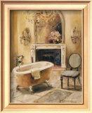 French Bath I Art by Marilyn Hageman