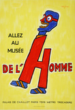 Allez Au Musee De Lhomme Collectable Print by Raymond Savignac