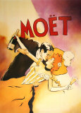 Moet - Couple Posters by Vince Mcindoe