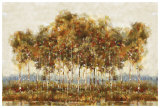 Treescape I Art by Viola Lee