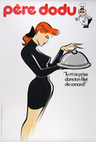 Pere Dodu - Black Dress Collectable Print