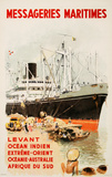 Mess Maritimes - Levant Fren Collectable Print by Albert Brenet