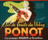 Ponot - Label Green Collectable Print by Leonetto Cappiello