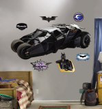 Batmobile Wall Decal