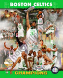 2008 Boston Celtics NBA Finals Champions, PF Gold Limited Edition Photo