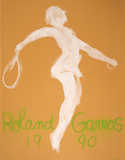 Roland Garros 1990 Collectable Print by Claude Garache