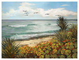 Beach Bird Prints by Laurie Snow Hein