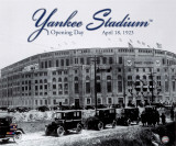Yankee Stadium - 1923 Opening Day Photo