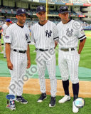 Mariano Rivera, Derek Jeter, and Alex Rodriguez 2008 MLB All-Star Game Photo