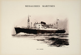 Mess Maritimes- Jean Laborde Collectable Print by  Chapelet