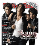 Jonas Brothers, Rolling Stone no. 1058, July 2008 Photographic Print by Max Vadukul
