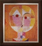 Senecio Posters by Paul Klee