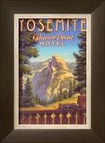 Yosemite, Glacier Point Hotel Prints by Kerne Erickson